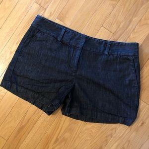 Dark Denim Shorts with 3-inch Inseam